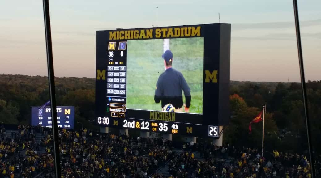 michigan scoreboard