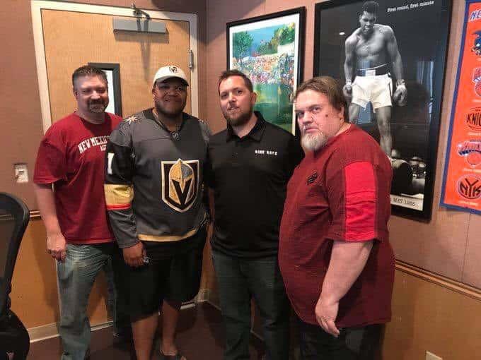 Video – VGK Insider Show interviews Carnell Johnson | Las Vegas