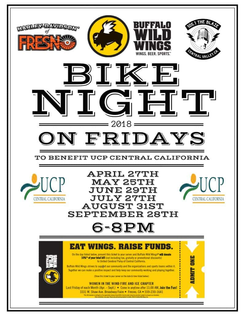 Join 105-1 The Blaze at Bike Night at Buffalo Wild Wings to Benefit ...