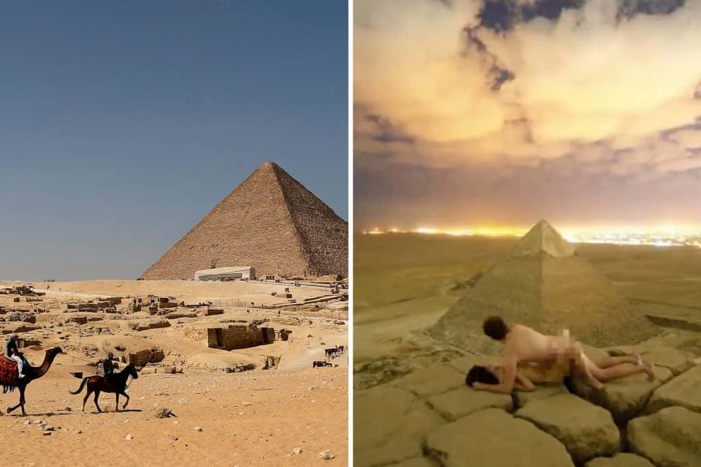 Egypt Authorities Investigate X-Rated Photos On Top Of