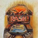 Rash in the Morning Logo: Wake up at Rash!! in the morning.....