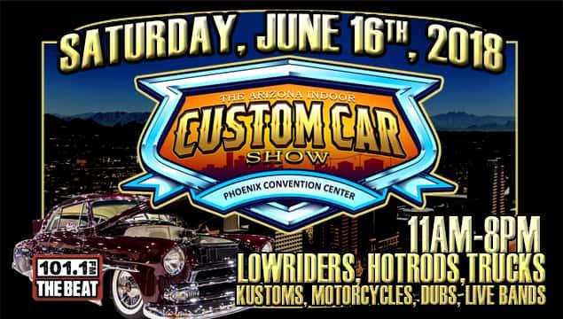 The Arizona Indoor Custom Car Show The Beat - Car show phoenix convention center