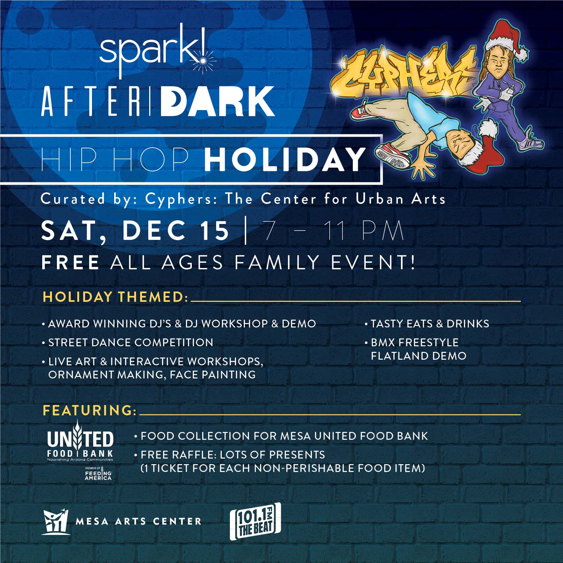 Spark! After Dark   101 1 The Beat