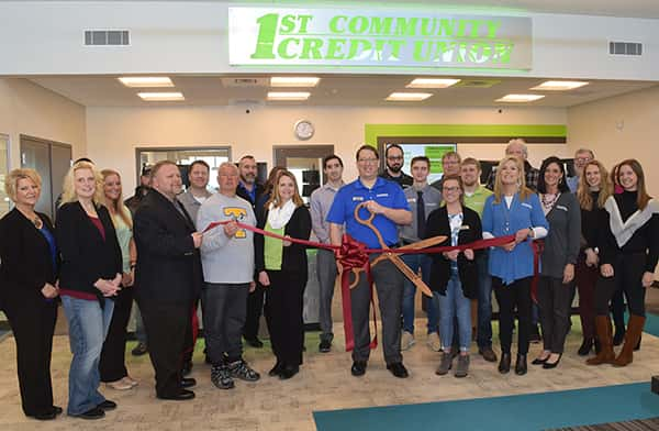 1st Community Credit Union Ribbon Cutting!