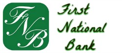 first natioal bank 250x110