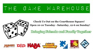 The Game Warehouse logo