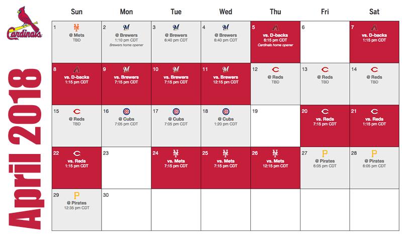 St louis cardinals wtye - St louis cardinals downloadable schedule ...
