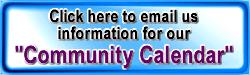community calendar email us banner
