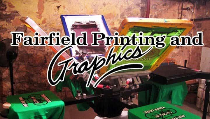 fairfield printing banner