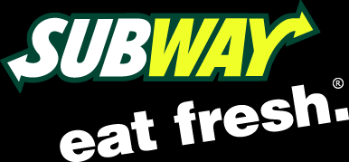 subway logo black