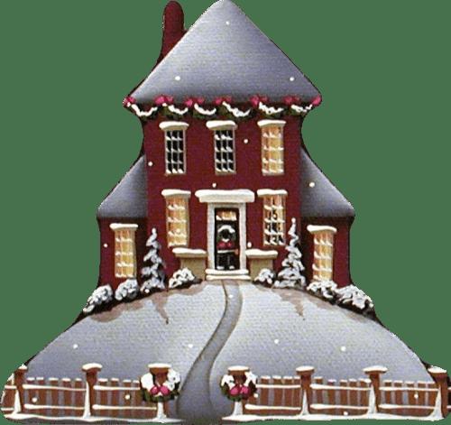Christmas Clipart House 2