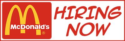 McDonalds Banner
