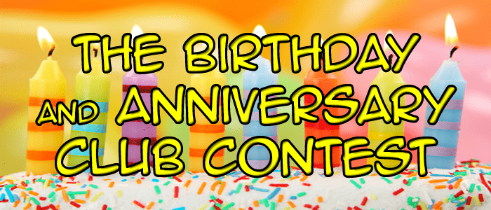 WZDM Birthday Anniversary Club