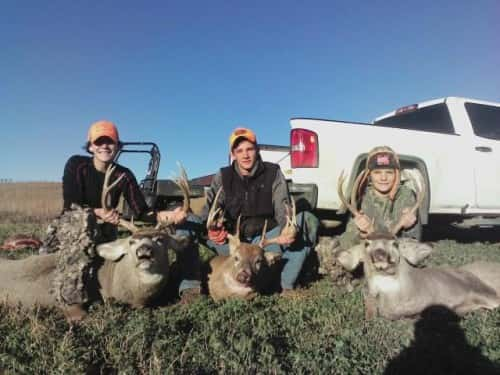 Alyx Siems, Mason Siems, and Tyson Rix. All 3 filled opening day 2016