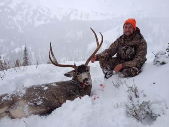 """Jake Reiman ,31"""" Mule deer, Jackson, Wyoming"""