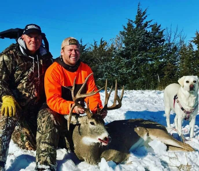 Dr. Mike (left) & Michael Hedlund. Check out the drop tine.
