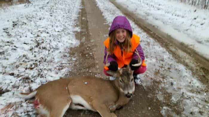Schuylar Morrow Second Deer