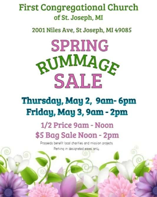 First Congregational Church Spring Rummage Sale | Town Crier