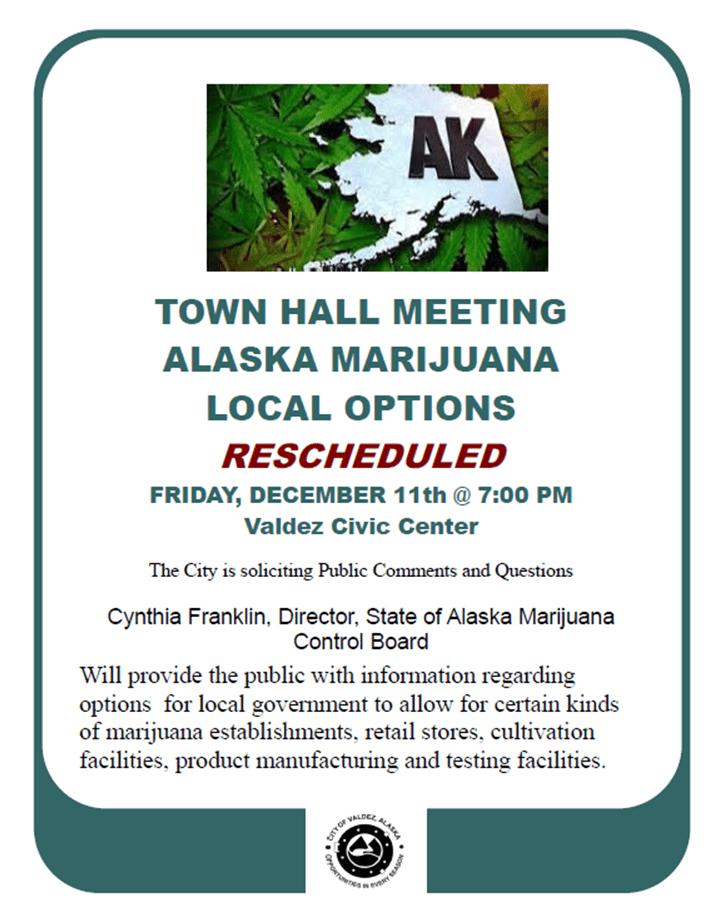 Townhall Marijuana Reschedule