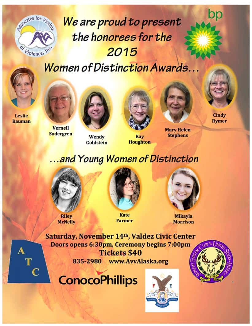 women of distinction flyer