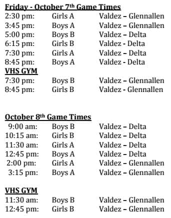 Basketball Oct 7-8