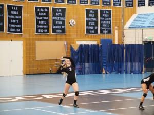 Joy Shumate volleyball 2015