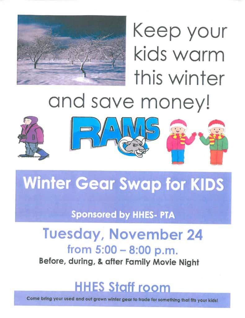 Winter Gear Swap- GOOD ONE