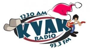 KVAK Logo - Santa Hat