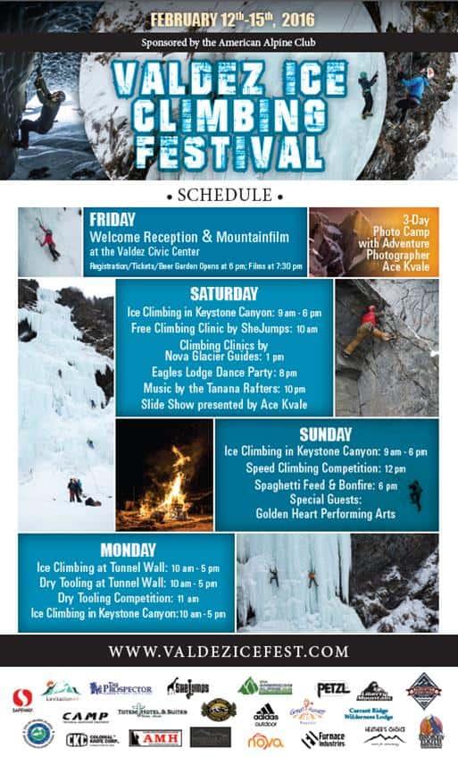 Valdez Ice Climbing Festival