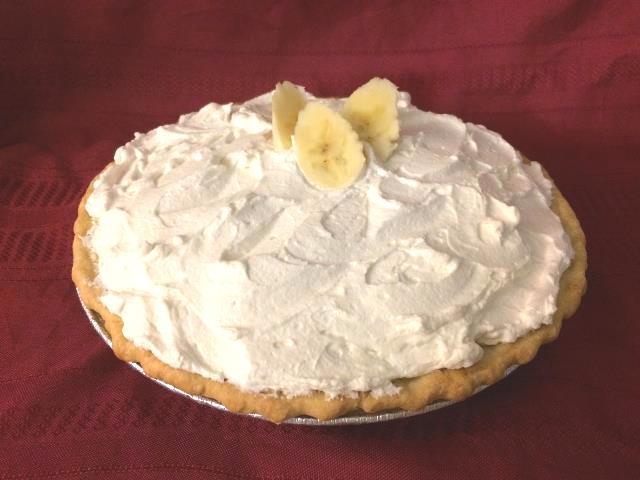 16) Banana Cream Pie