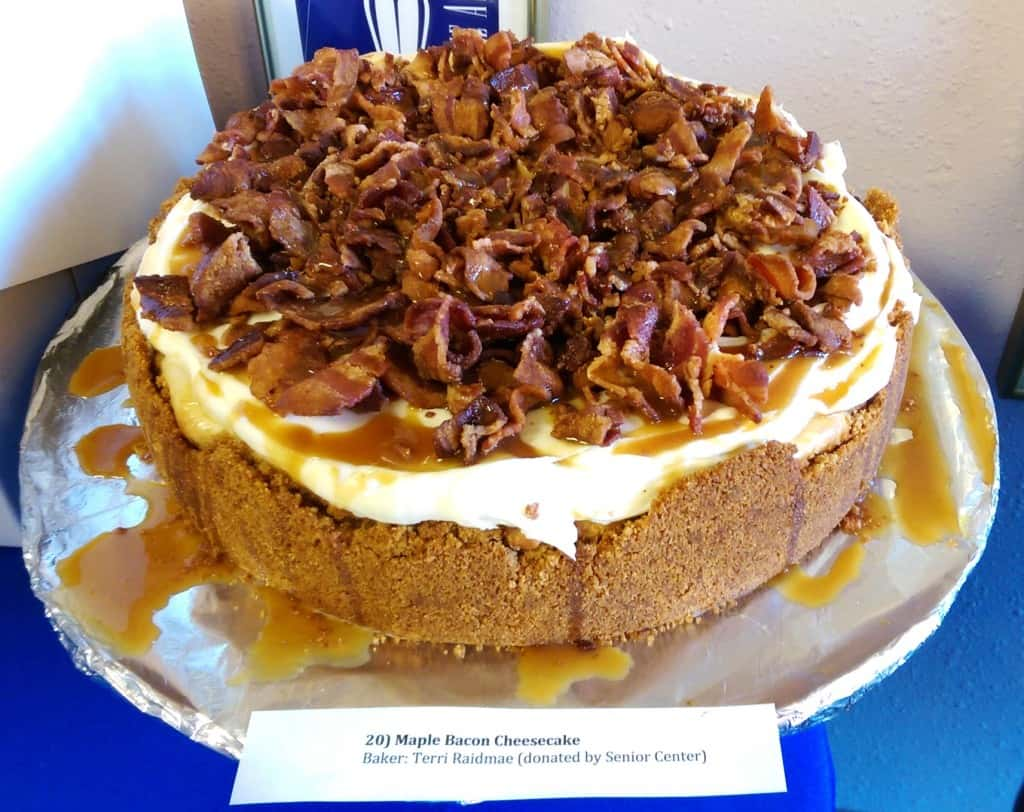 20) Maple Bacon Cheesecake