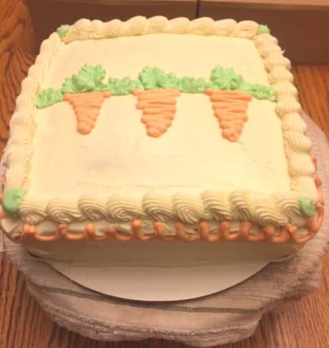 10) Sugar Free Carrot Cake