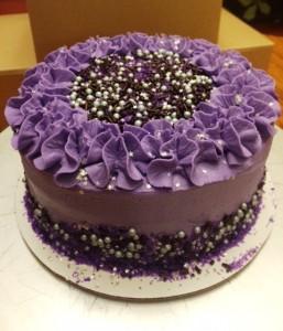 24) Galaxy Cake