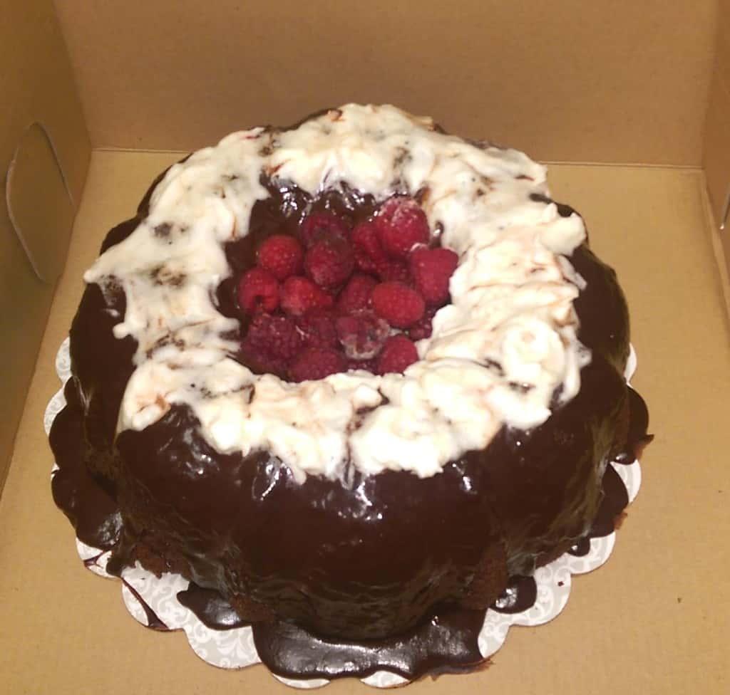 3) Triple Chocolate Bliss Cake