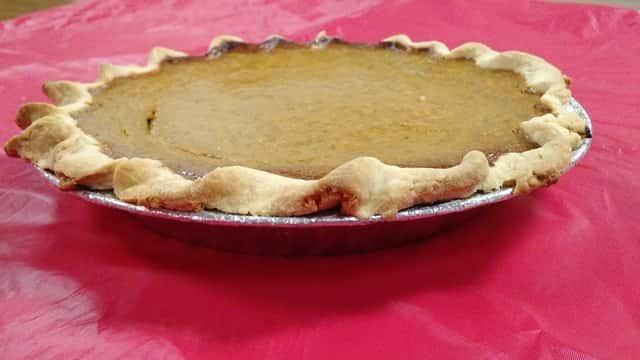 14) Pumpkin Pie