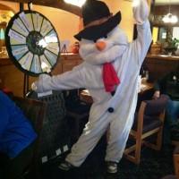 Frosty with Prize Wheel