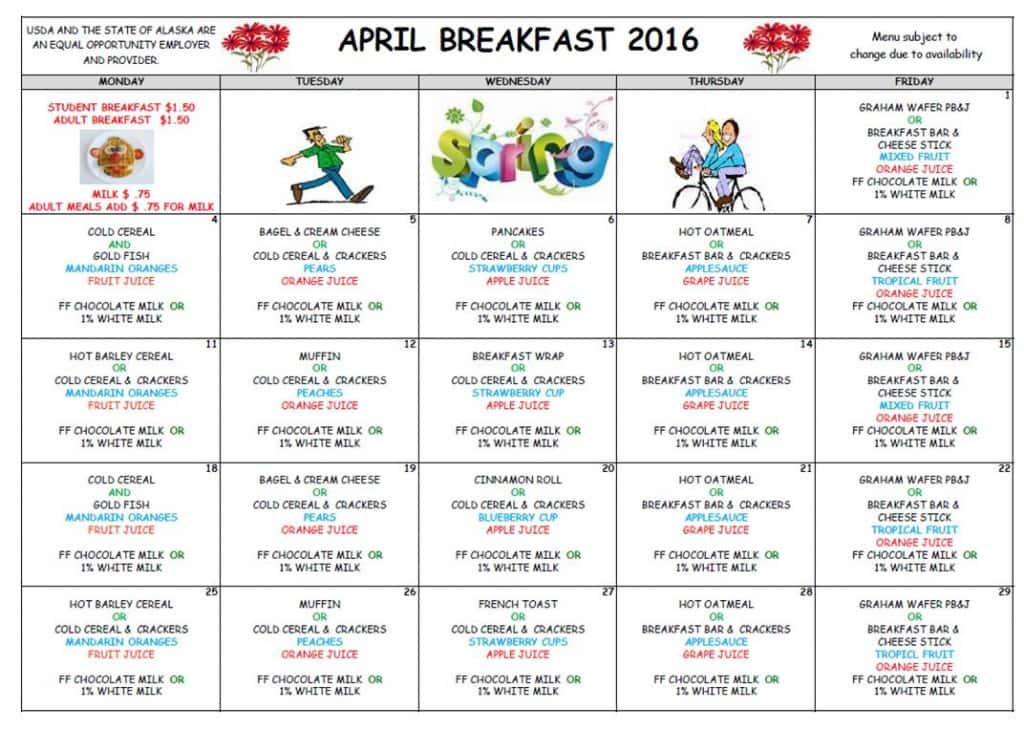 April Breakfast '16