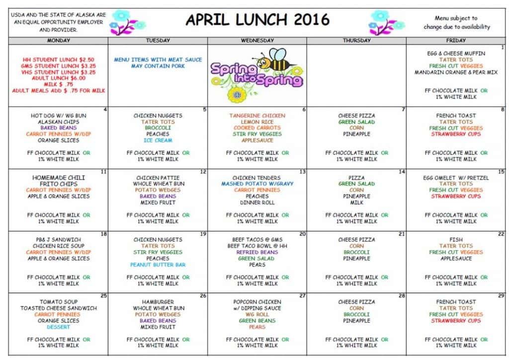 April Lunch '16