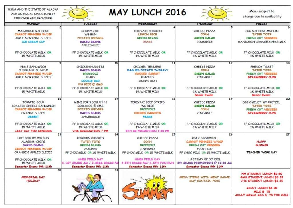 May Lunch '16