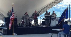 Military Appreciation Day 2016 band