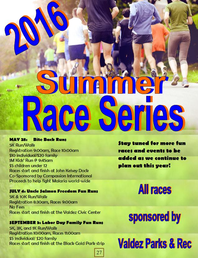 2016 Summer Race Series