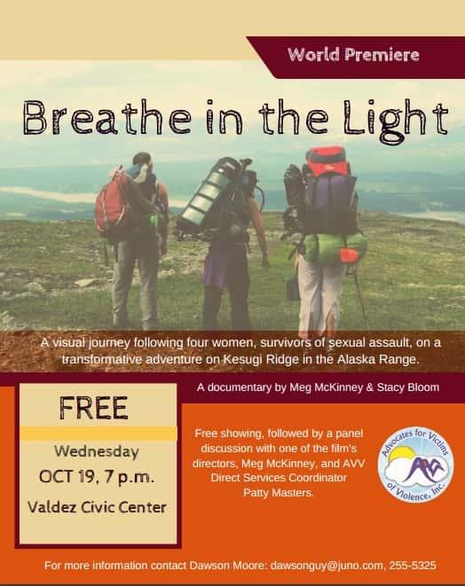 Breathe in the Light Flyer