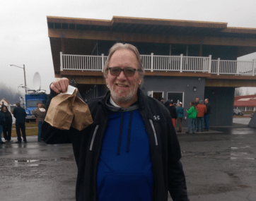 Michael Holcombe first legal purchase of retail marijuana in Alaska