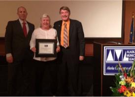 Valdez Police receive ALICE Award