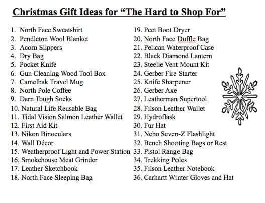 Prospector Gift Ideas- Hard to Shop For