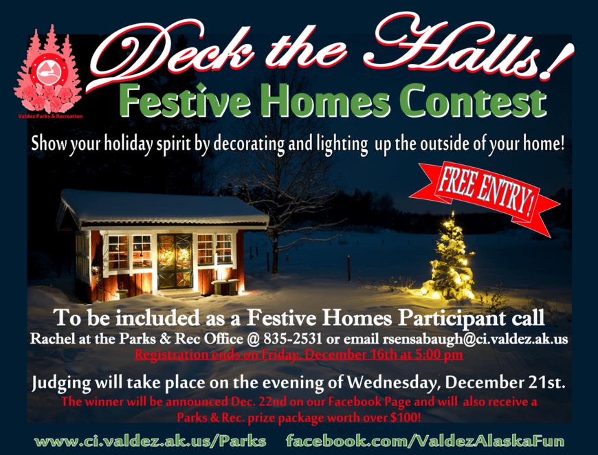 Festive Homes Contest