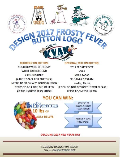 Design 2017 Frosty Fever Logo