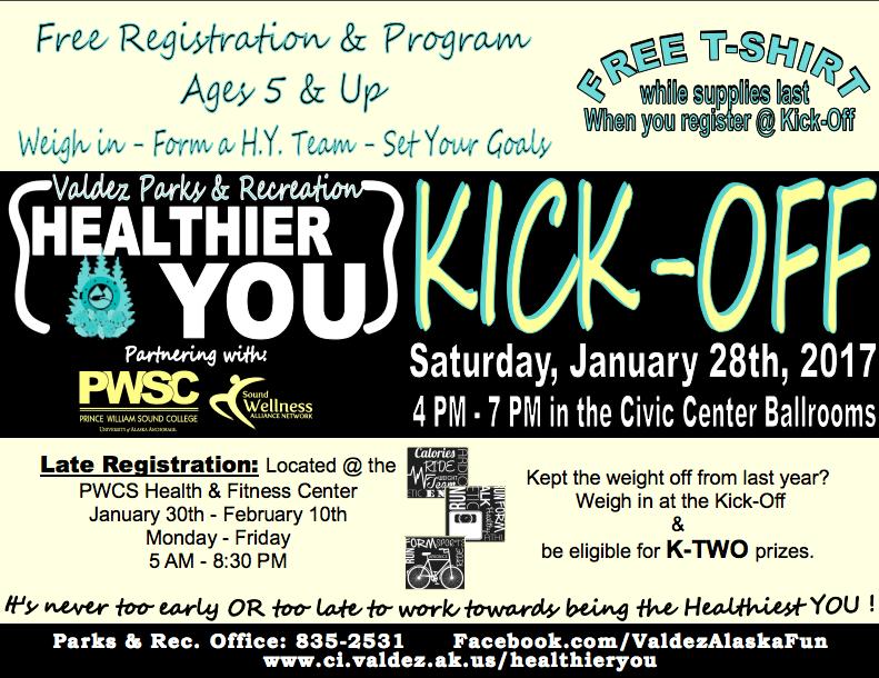 Healthier You Kick-Off 2017