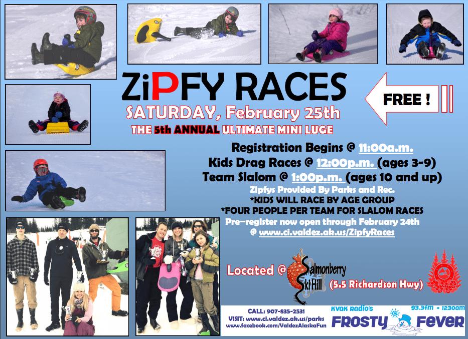 Zipfy Races 2017 Flyer
