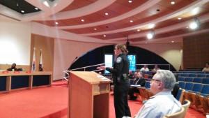Port Huron Police Lt. Marcy Kuehn